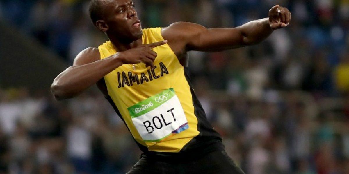 ¡Imbatible! Usain Bolt alcanza su novena medalla de oro tras ganar la posta 4x100