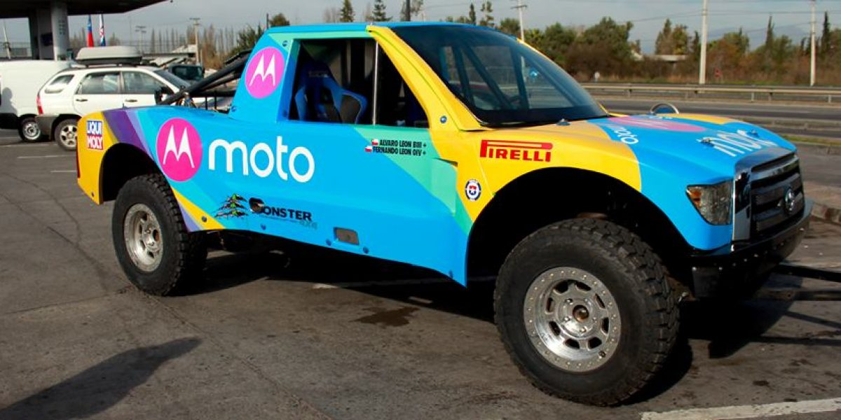 León Rally Team: al Atacama Rally con una nueva camioneta de fabricación propia
