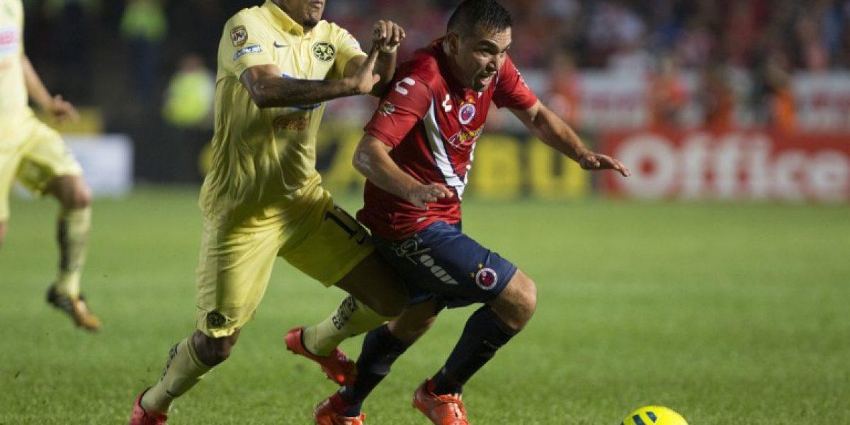 Otra vez sancionado: Fernando Meneses fue separado del primer equipo del Veracruz