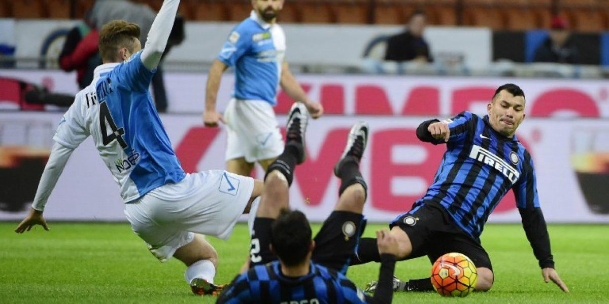 Gary Medel ahora es el regalón del técnico y preparan su renovación en el Inter