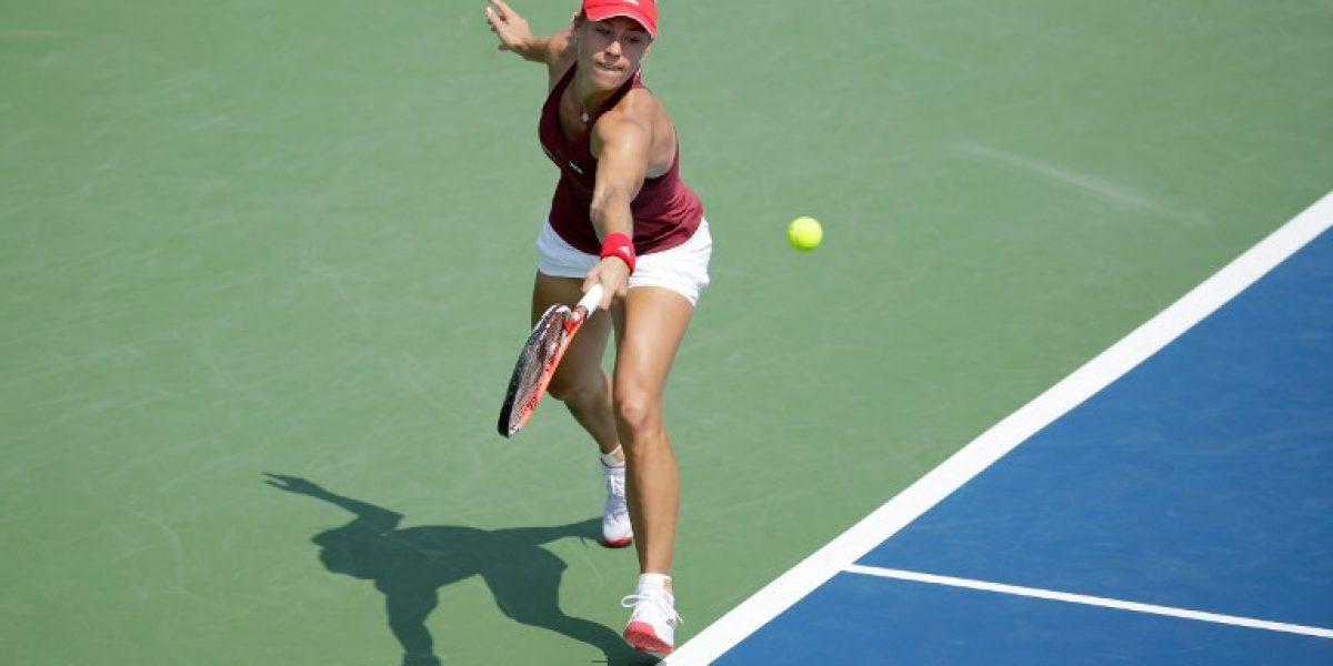 La alemana Angelique Kerber queda a dos triunfos de quitarle el Nº1 a Serena Williams