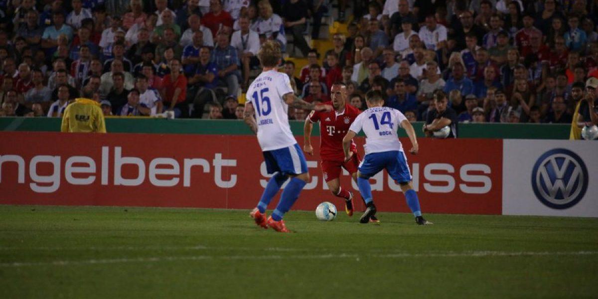 Un goleador Vidal fue clave en el triunfo del Bayern en la Copa alemana