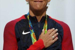 Un día antes de cumplir 43 años se hizo con el tricampeonato olímpico en la prueba contrarreloj del ciclismo en ruta. Foto:Getty Images. Imagen Por: