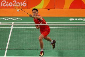 El chino puede imponerse por tercera ocasión en badmintón, a los 32 años Foto:Getty Images. Imagen Por: