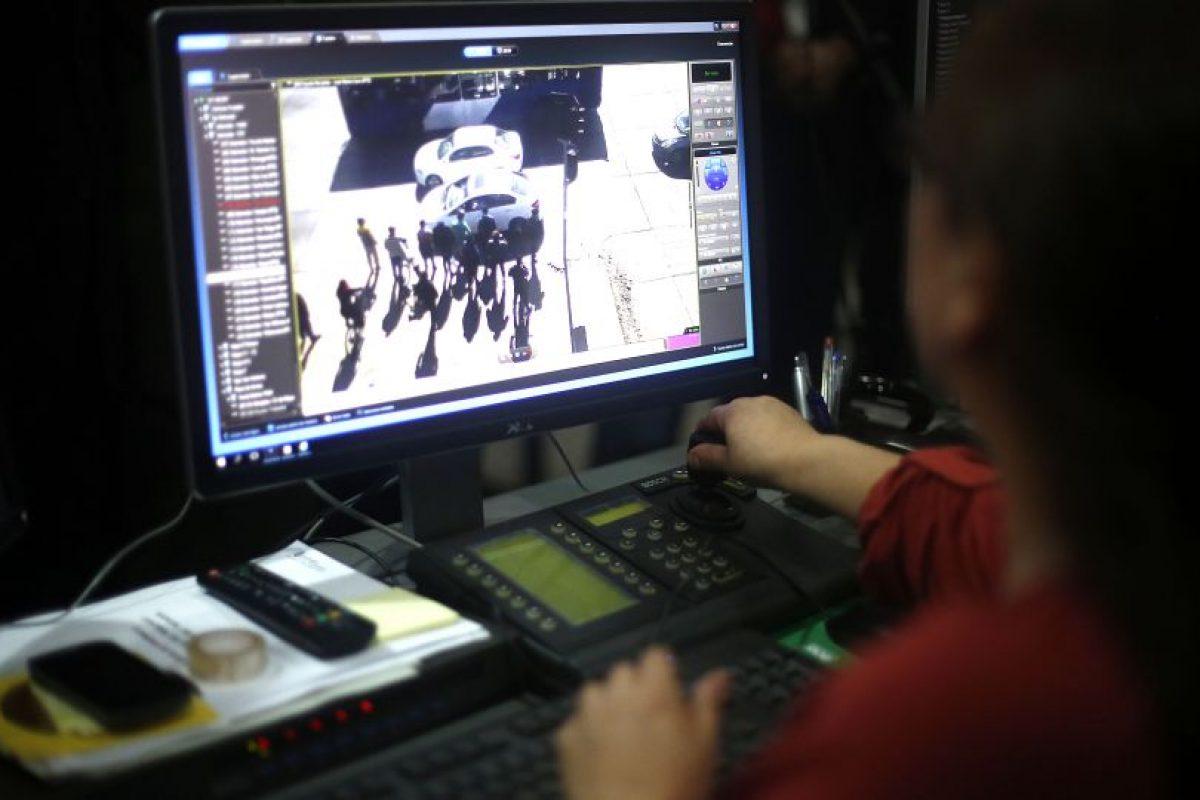 La red de cámaras y la sala de monitoreo -que serán operadas por personal municipal especialmente capacitado- fueron financiadas con aportes de la Subsecretaría de Prevención del Delito del Ministerio del Interior Foto:Aton. Imagen Por: