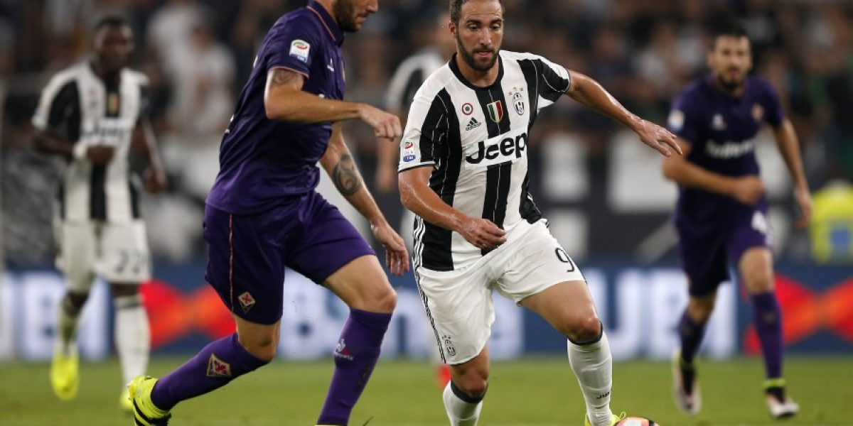 Pagando lo que costó: El cuestionado Higuaín le dio el trunfo a Juventus sobre la Fiorentina