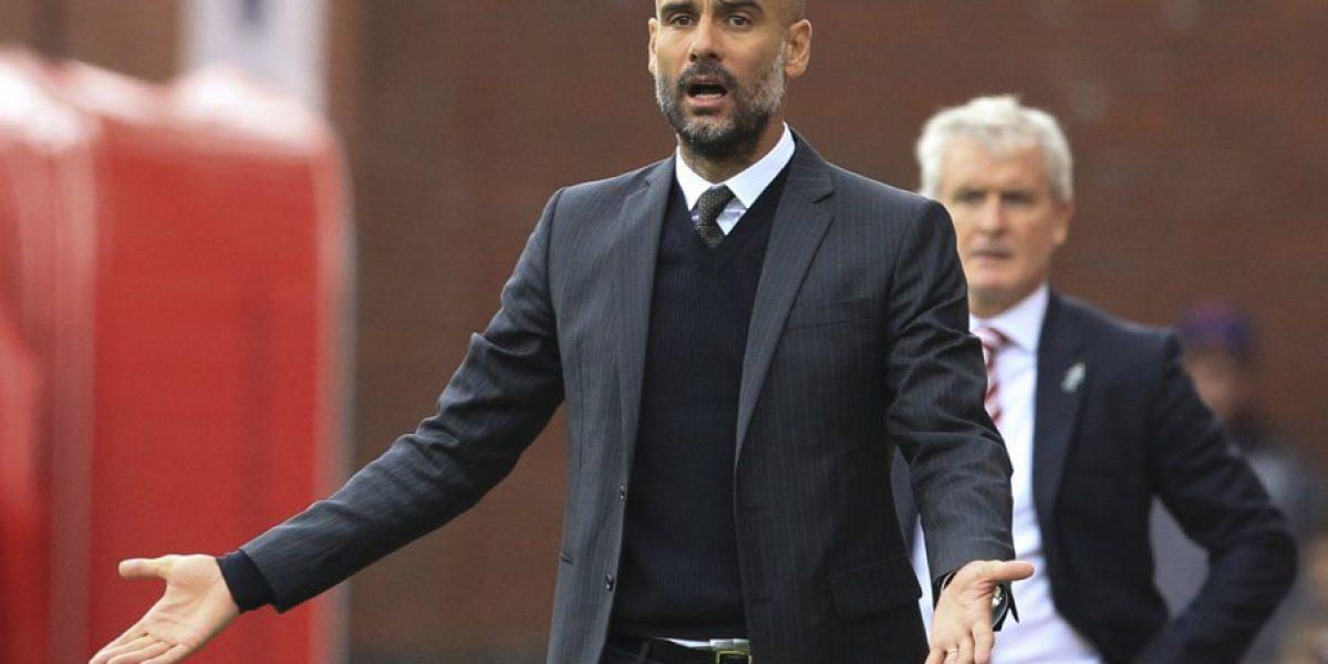 Goleó al Stoke: Manchester City espera por Claudio Bravo en la cima de la Premier