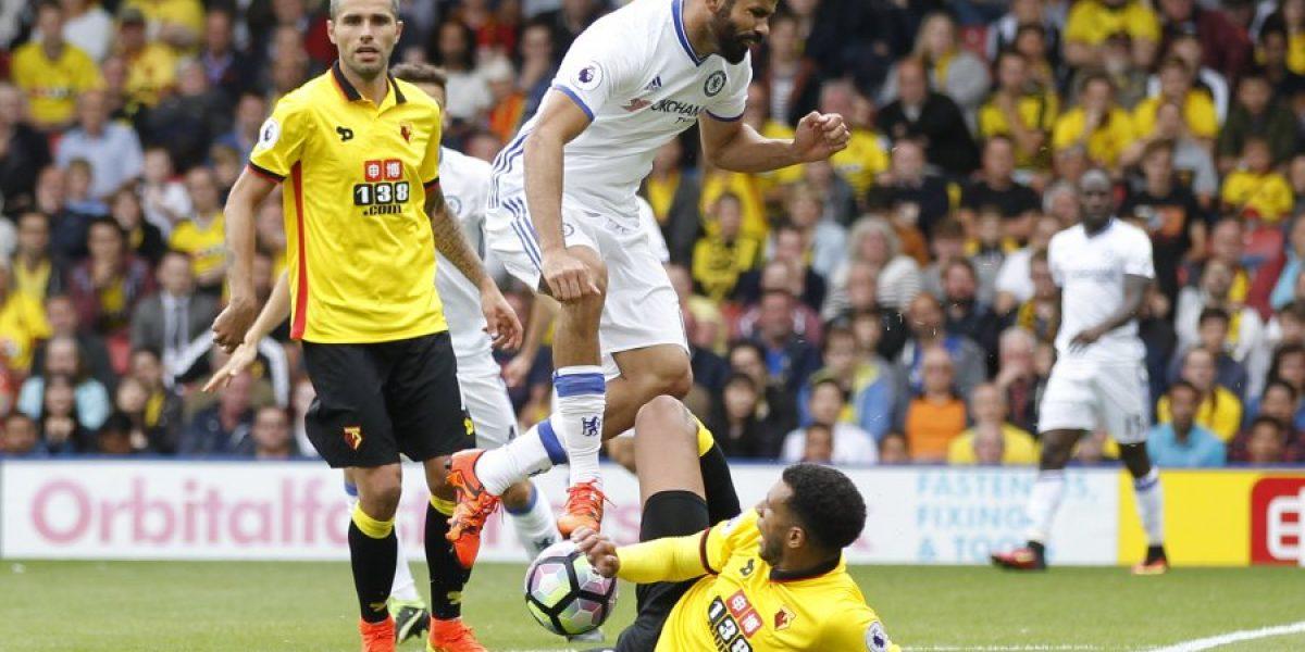 Otra vez sobre el final: Chelsea derrotó a Watford y se suma a la cima de la Premier