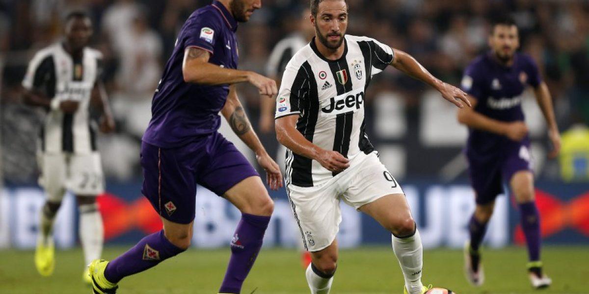 Pagando lo que costó: El cuestionado Higuaín dio el trunfo a Juventus sobre la Fiorentina