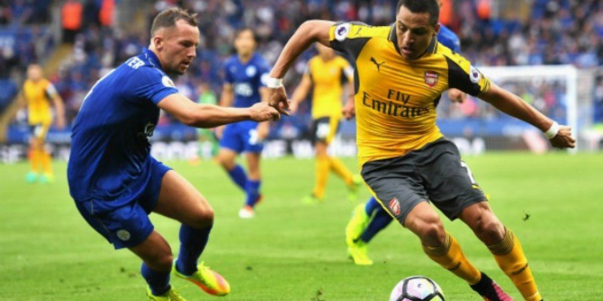 Así vivimos el partido entre el Arsenal y Leicester City por la Premier League