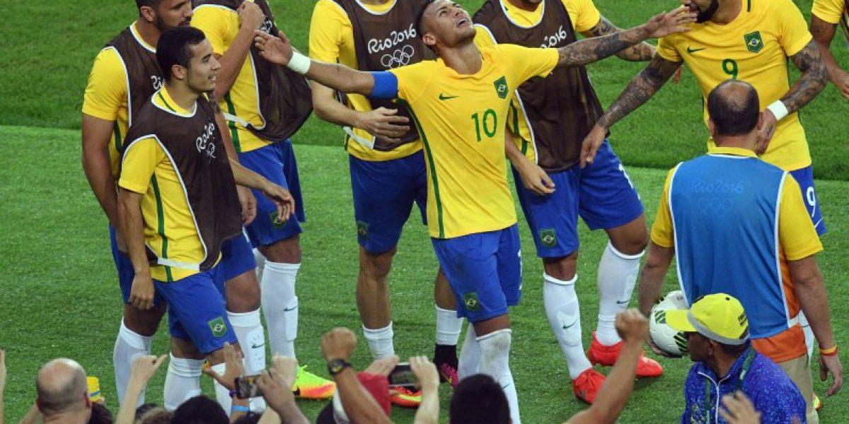 Neymar le devuelve la alegría a Brasil que ganó por primera vez el Oro olímpico en fútbol