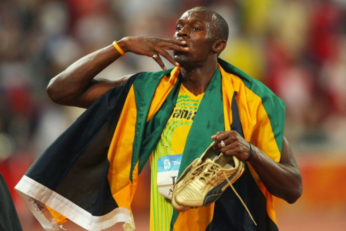 Y llegó a nueve metales dorados en los Juegos Olímpicos Foto:Getty Images. Imagen Por: