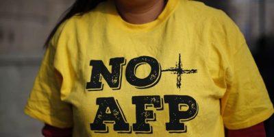 Conoce los desvíos de tránsito en el centro de Santiago por la marcha No+AFP