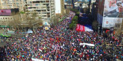 Marcha No+AFP: organizadores destacaron alta convocatoria en Santiago y regiones