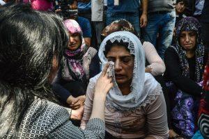 """El atentado de Gaziantep es obra de """"un kamikaze de entre 12 y 14 años que se hizo estallar, o bien llevaba explosivos detonados a distancia"""", declaró el presidente Recep Tayyip Erdogan. Foto:Afp. Imagen Por:"""