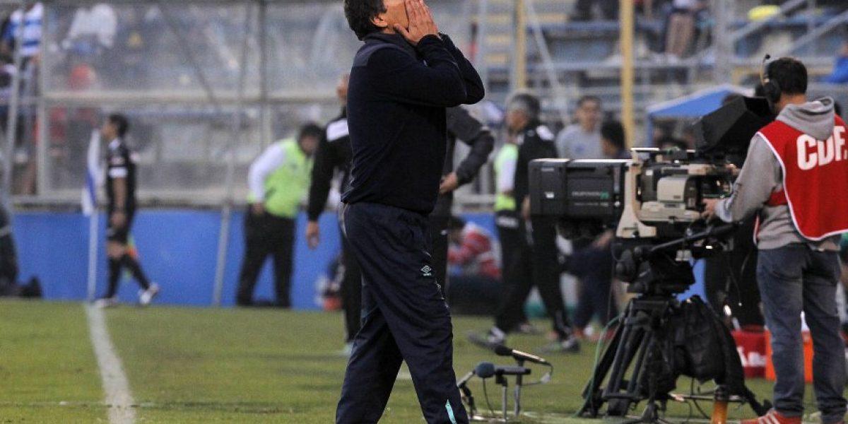 Mario Salas reconoce mal momento de la UC: