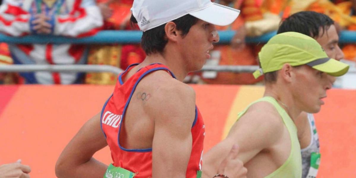 Víctor Aravena terminó en el lugar 42º del maratón de Río 2016