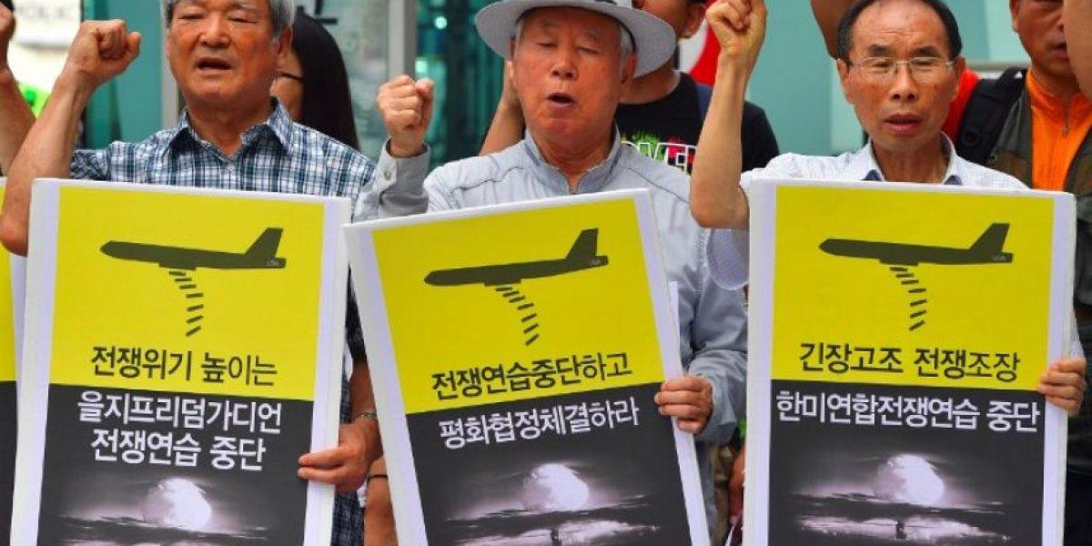 Seúl y Washington inician maniobras bajo amenaza nuclear de Corea del Norte