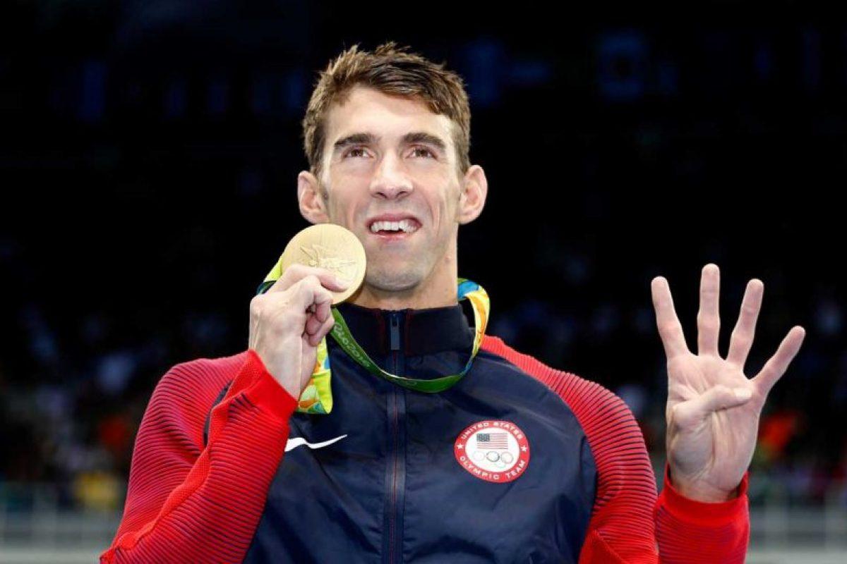 Se fue de Río con 5 oros y una plata. Foto:Getty Images. Imagen Por: