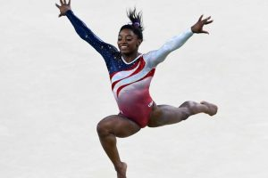 Dominó la gimnasia y ganó cuatro medallas de oro y una de bronce. Foto:Getty Images. Imagen Por: