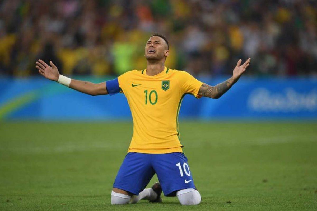 Lideró a la selección de Brasil que por fin logró ganar la medalla de oro en fútbol. Foto:Getty Images. Imagen Por: