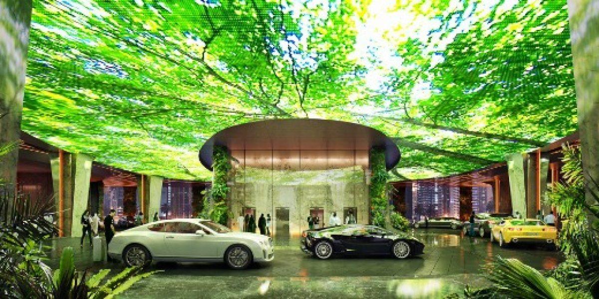 El mega hotel de lujo que tendrá una selva tropical en pleno desierto