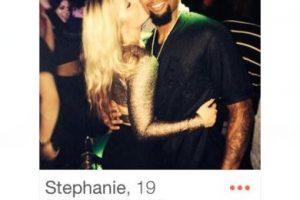 """En Tinder, una chica de nombre """"Stephanie"""" presumió que había pasado la noche con Odell Beckham Jr., jugador de la NFL Foto:Tinder. Imagen Por:"""