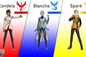 Ellos son los líderes de cada equipo. Foto:Pokémon. Imagen Por: