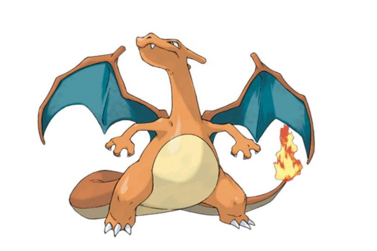 Charizard. Foto:Pokémon. Imagen Por: