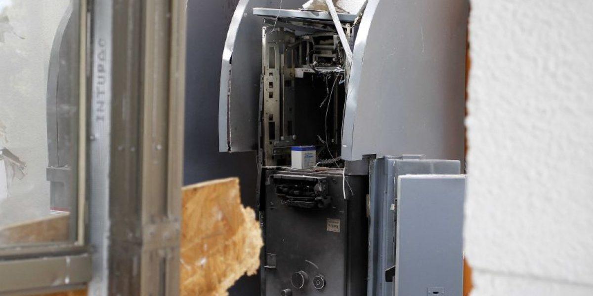 Robo frustrado de cajero automático afectó a la Municipalidad de Ercilla
