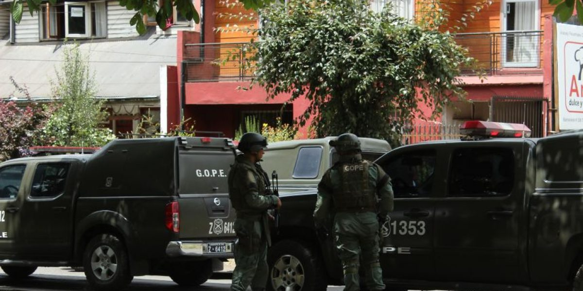 Investigación por bomba en penal de Temuco deja un sexto detenido