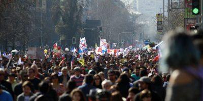 Dirigentes sociales destacan la evolución de las manifestaciones en Chile