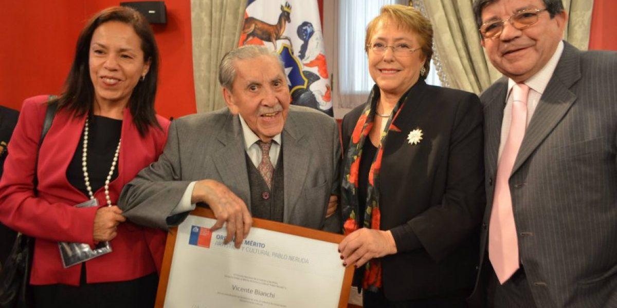 Tras 18 nominaciones, Vicente Bianchi se alza con el Premio Nacional de Música