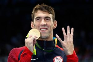 Michael Phelps Foto: Getty Images. Imagen Por: