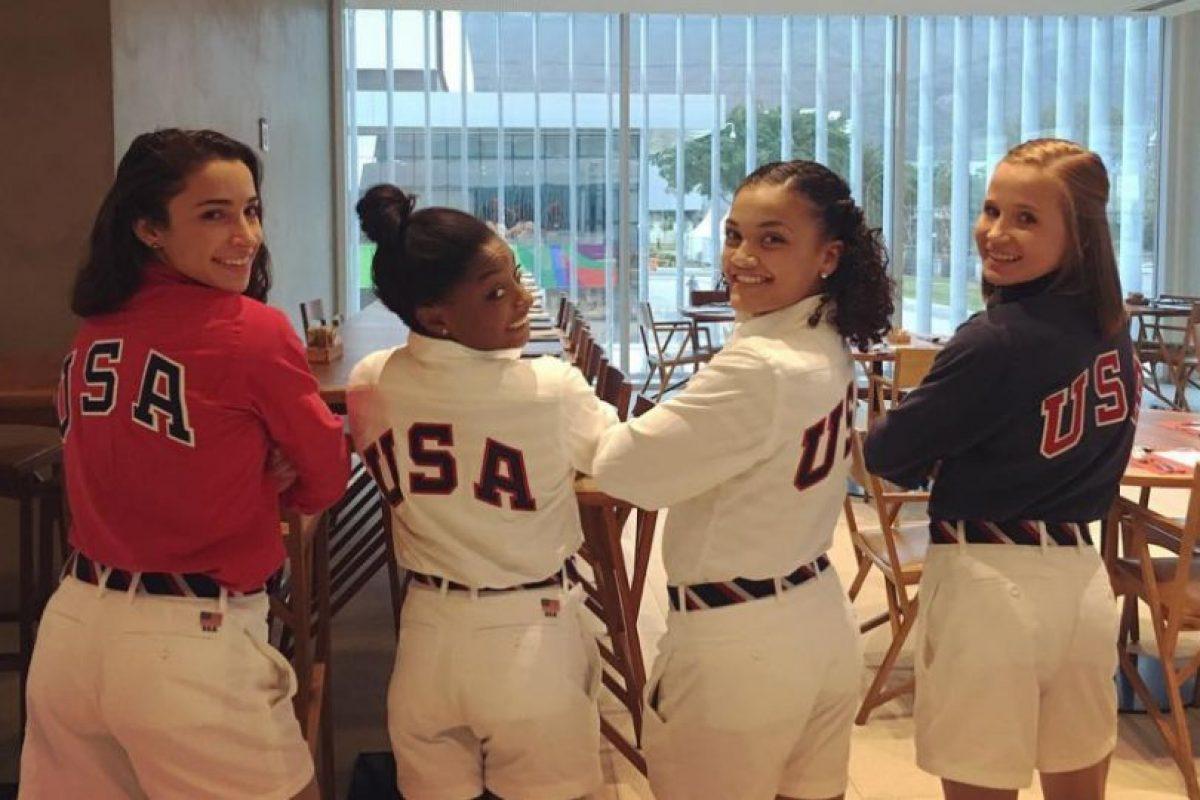 Entre las tres chicas sumaron 10 medallas olímpicas Foto:Instagram. Imagen Por:
