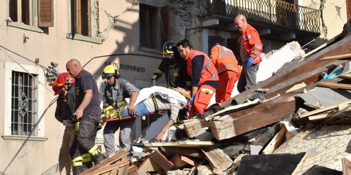 Terremoto en Italia deja decenas de muertos y más de un centenar de personas desaparecidas