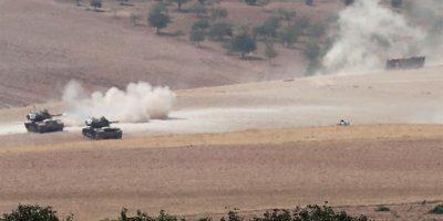 El Ejército turco inicia una operación terrestre en Siria contra el Estado Islámico y los kurdos