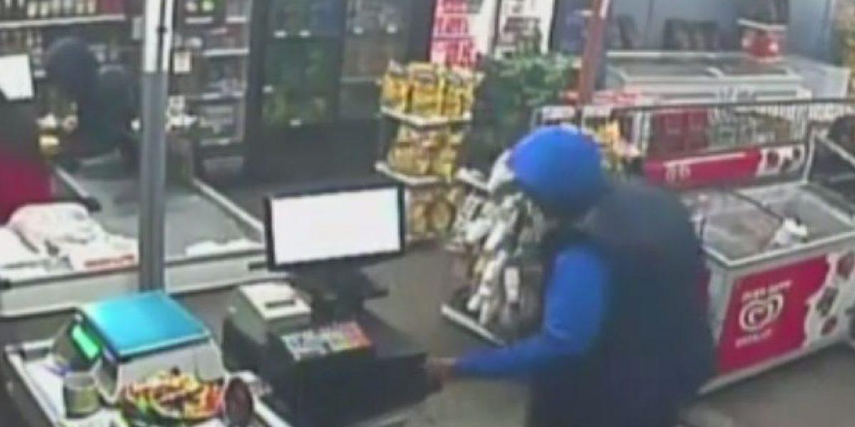 Cuatro son menores: cae banda especializada en robo a supermercados en Maipú