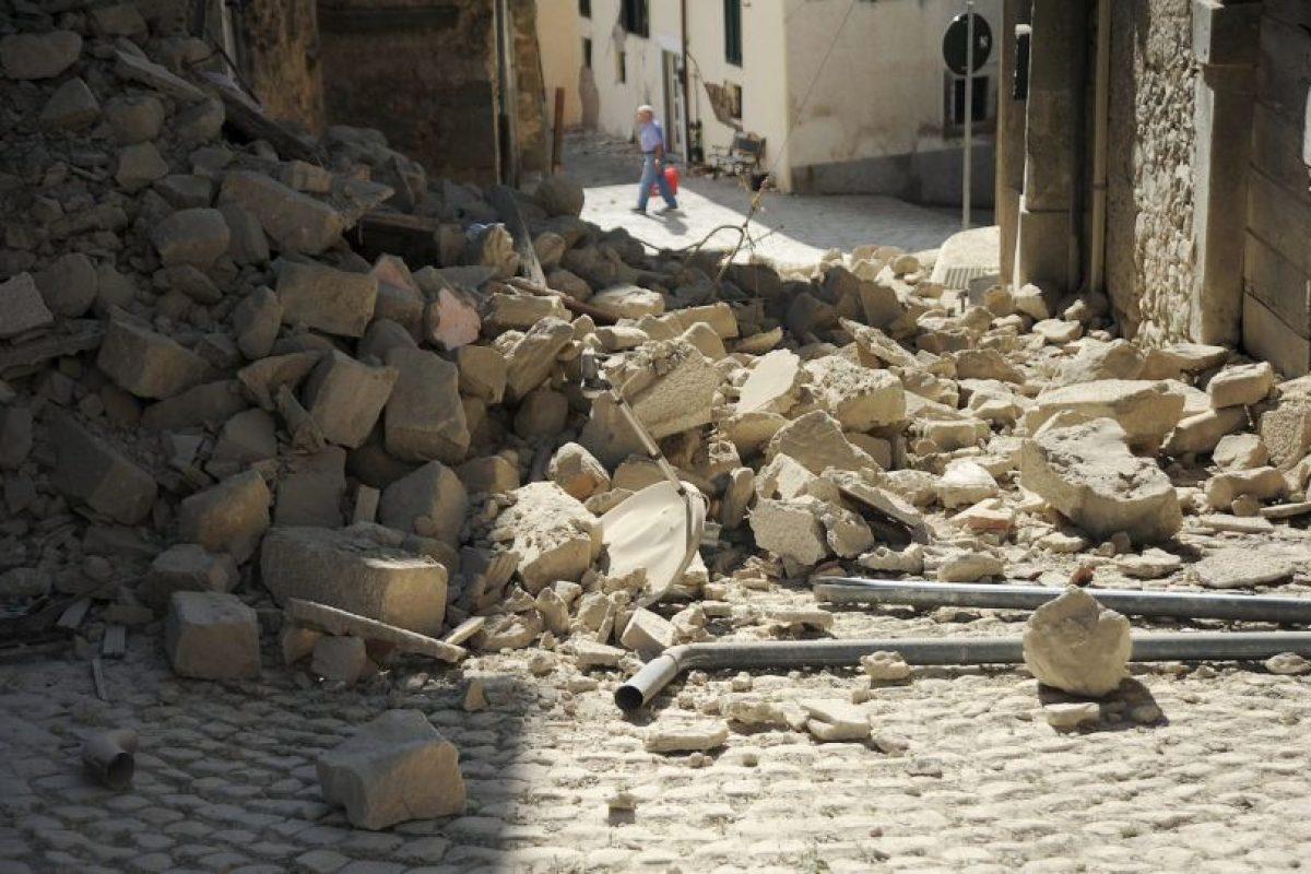 Tuvo una magnitud de 6.2 Richter Foto:AFP. Imagen Por: