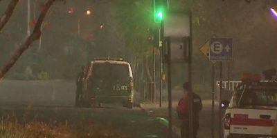 Robo frustrado a cajero automático en mall capitalino dejó cuatro detenidos
