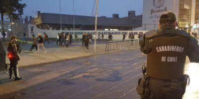 Desconocidos protagonizan incidentes en la Universidad de Santiago