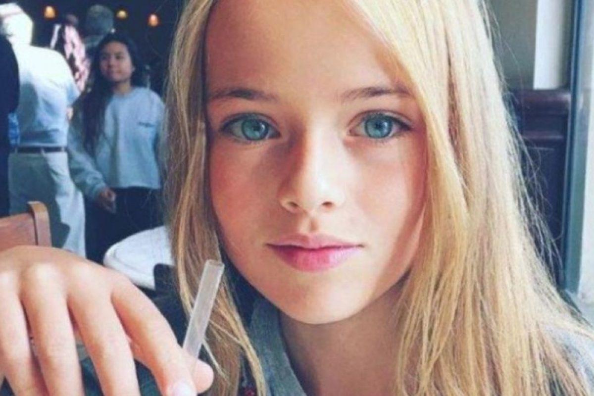 Kristina Pimenova tiene 11 años. Foto:vía Facebook/Kristina Pimenova. Imagen Por: