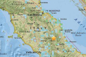 El terremoto tuvo una magnitud de 6,4 grados. Foto:USGS. Imagen Por: