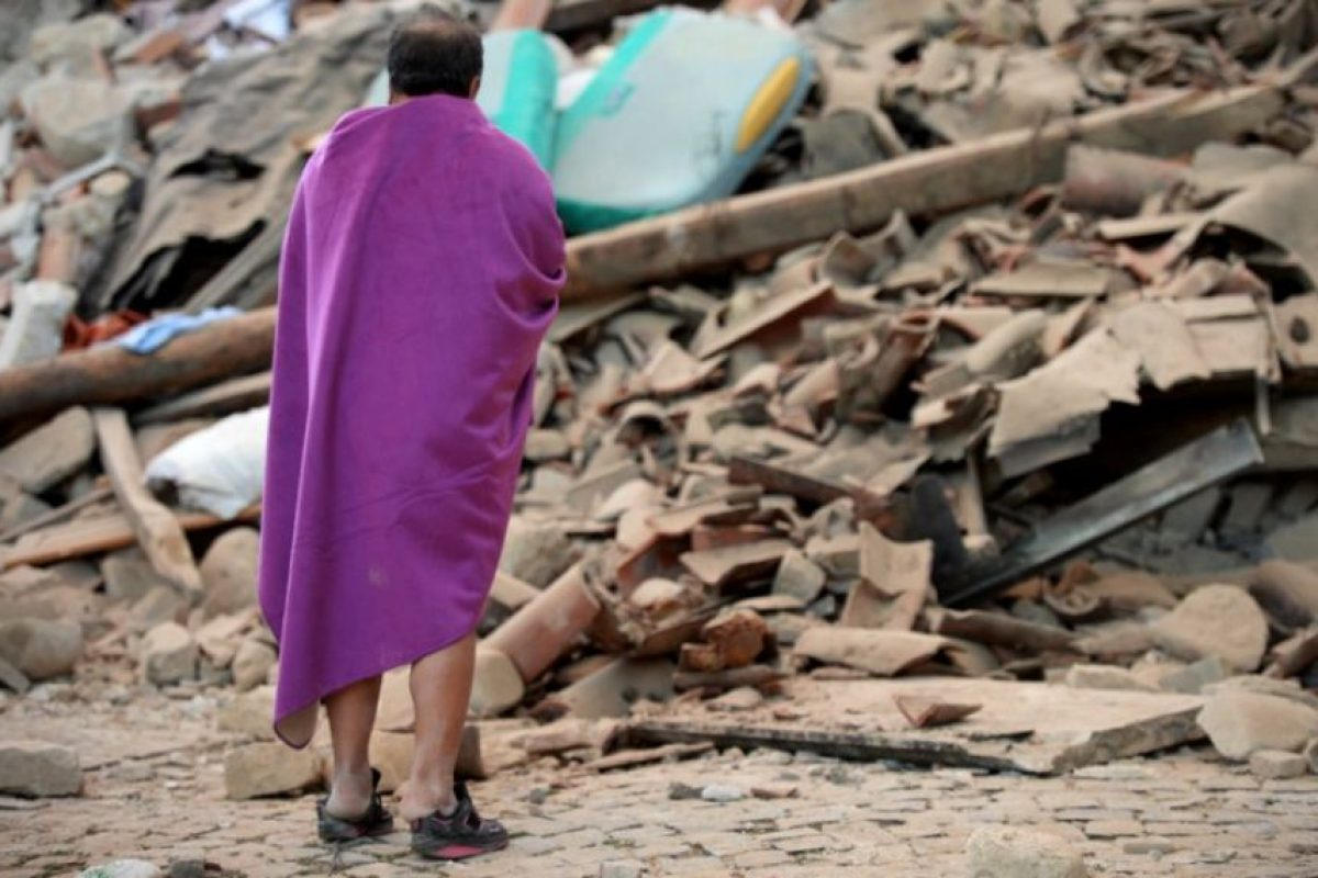 Donde miles de personas lo perdieron todo Foto:AFP. Imagen Por: