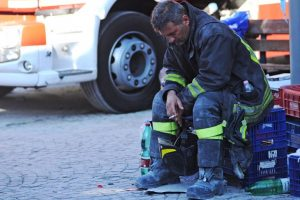 Italia trabaja para recuperarse de la catástrofe Foto:AFP. Imagen Por: