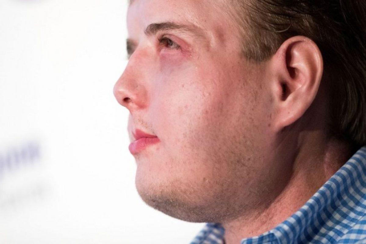 """""""Soy un hombre normal"""", dice Patrick Harrison Foto:AFP. Imagen Por:"""