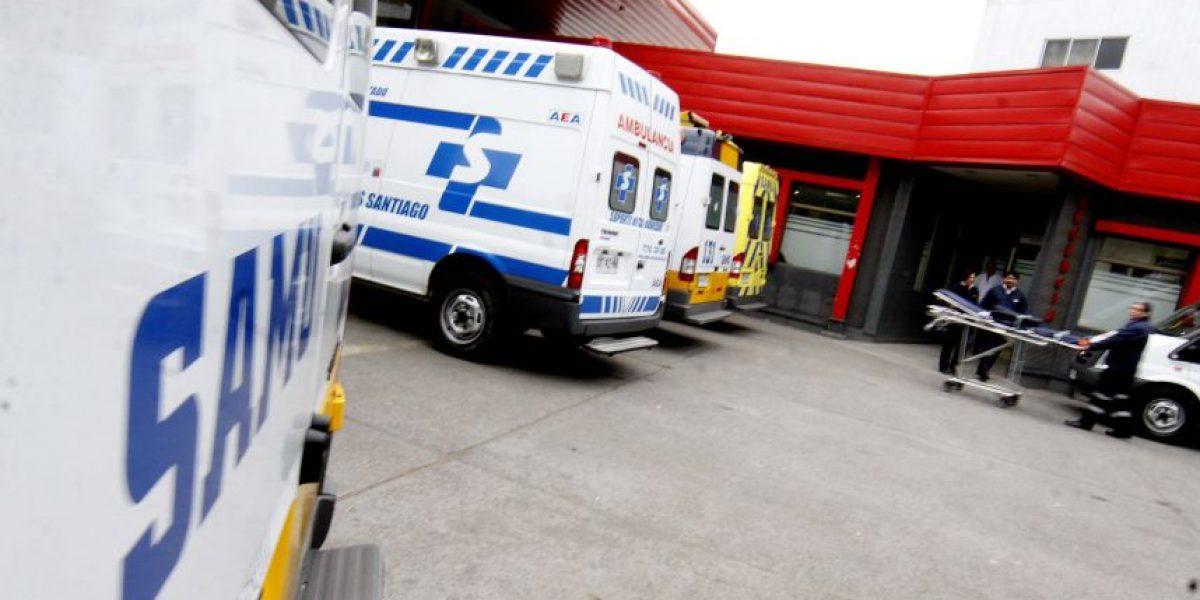 Robo de auto en Vitacura terminó con un herido a bala en Providencia