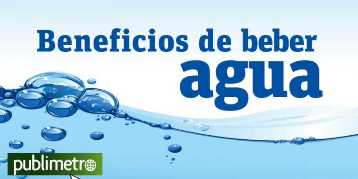 Infografía: beneficios de beber agua