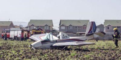 Identifican a piloto de avioneta que aterrizó sin motor en Melipilla