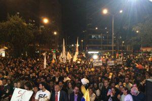 Así estuvo la gente en Bogotá. Foto:Twitter. Imagen Por: